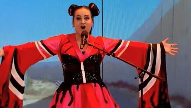 Нетту и ее песню Toy, с которой она победила на Евровидении, спародировали в Нидерландах: разгорелся антисемитский скандал