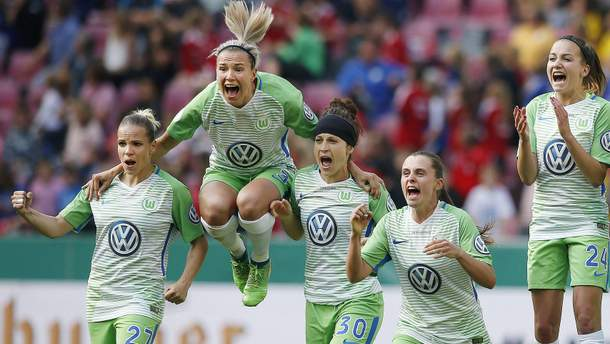 "Жіноча команда ""Вольфсбурга"""