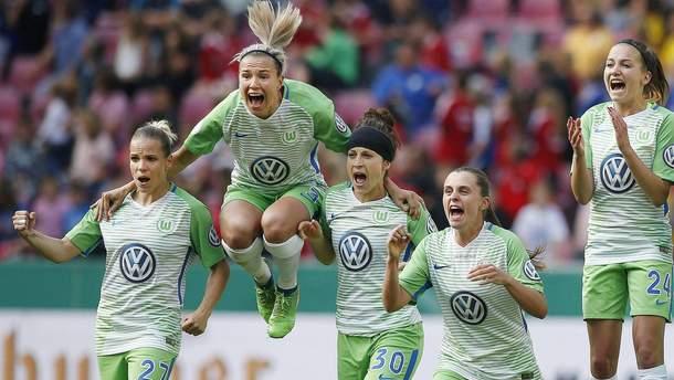 "Женская команда ""Вольфсбурга"""