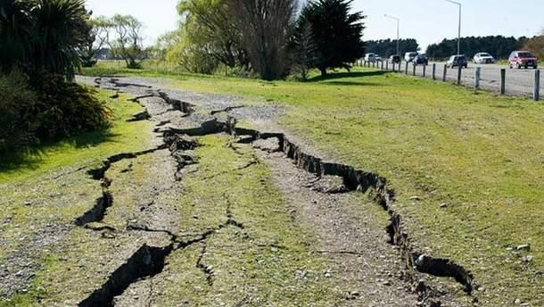 В Эквадоре произошло землетрясение