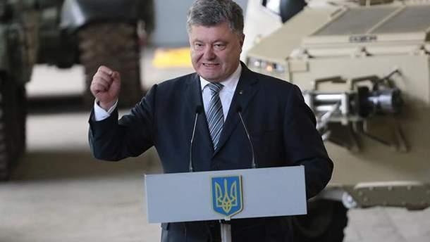Порошенко подписал закон о переименовании ВДВ