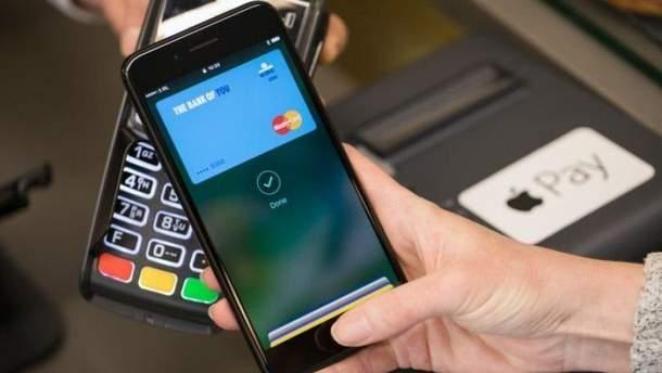 Клієнтам Ощадбанку стане доступна послуга Apple Pay
