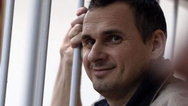 Посольство США в Украине требует у России освободить украинского режиссера Сенцова