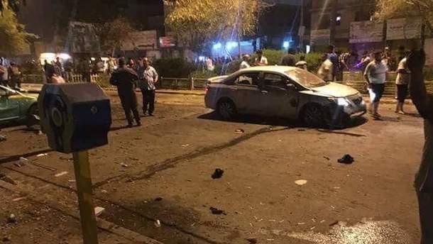 В Багдаде террорист-смертник устроил взрыв