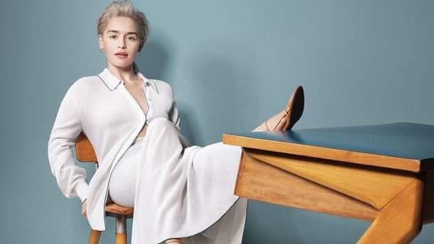 Емілія Кларк знялась для обкладинки модного глянцю: елегантні фото