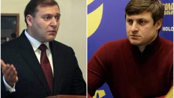 Добкин и Осуховский устроили скандал в эфире