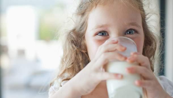 Аллергия на молоко у детей