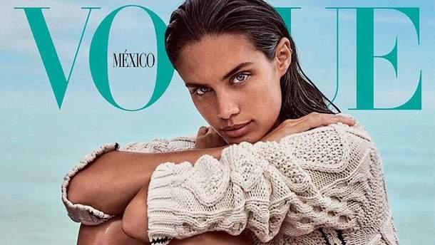 Сара Сампайо для Vogue Mexico