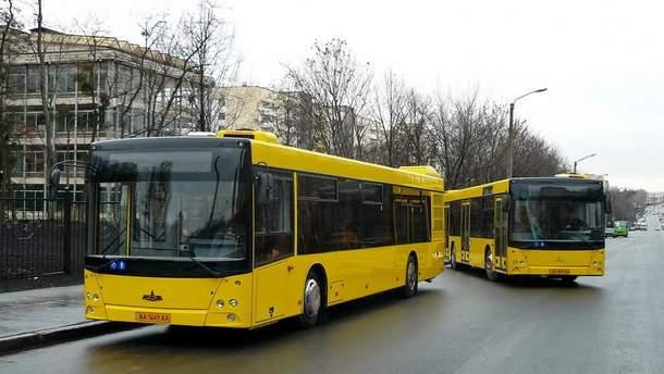 Проезд в Києве