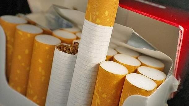 Україна з початку року скоротила виробництво сигарет на 30%