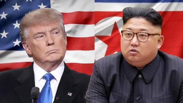 Трамп відмовився зустрічатися з Кім Чен Ином найближчим часом