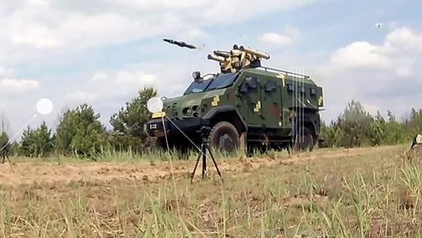 Испытания нового боевого модуля в Украине