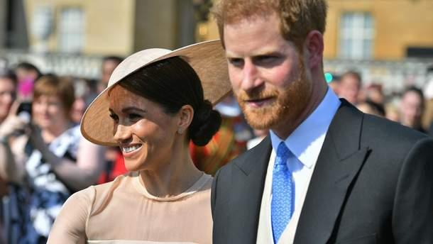 Меган Маркл и принц Гарри на праздновании 70-летия принца Чарльза