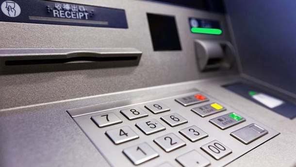 В оккупированной Донецкой области не работают банкоматы