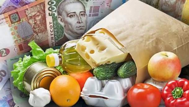 Украина входит в ТОП-10 стран мира, которые больше всего тратят на продукты
