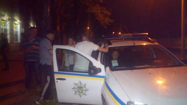 Нападение на Сергея Стерненко: полиция установила имена злоумышленников
