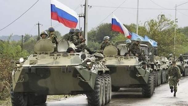 Россия концентрирует свои войска под общей границей с Украиной