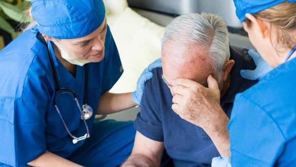 Люди, которые страдают экземой, склонны к инсультам