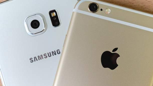 Samsung програв справу щодо патентів Apple