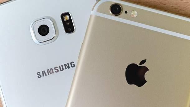 Samsung проиграл дело относительно патентов Apple