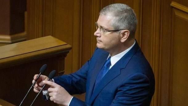 Луценко внес в Раду представление на Александра Вилкула