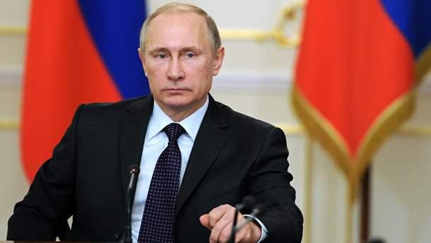 Путін звинуватив Україну у небажанні врегулювати конфлікт на Донбасі