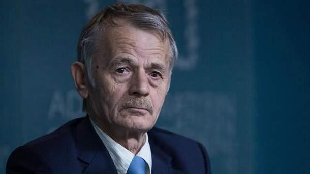 Лидер крымскотатарского народа Мустафа Джемилев