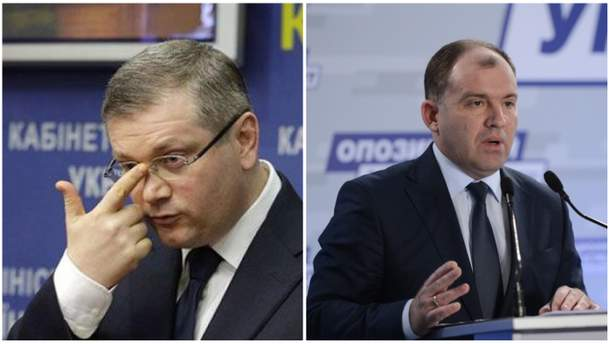 Александр Вилкул и Дмитрий Колесников