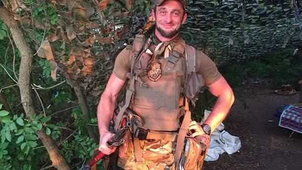 Євген Листопад захищає Україну на Донбасі