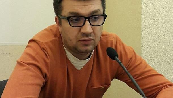 Журналист Сергей Иванов