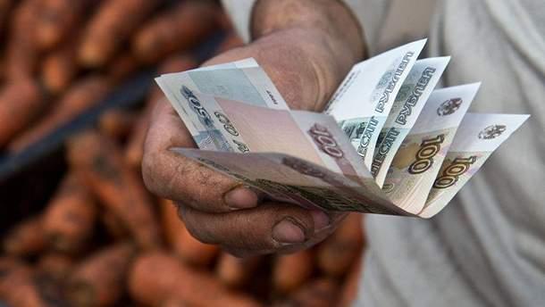 Зарплати і пенсії на окупованій Донеччині