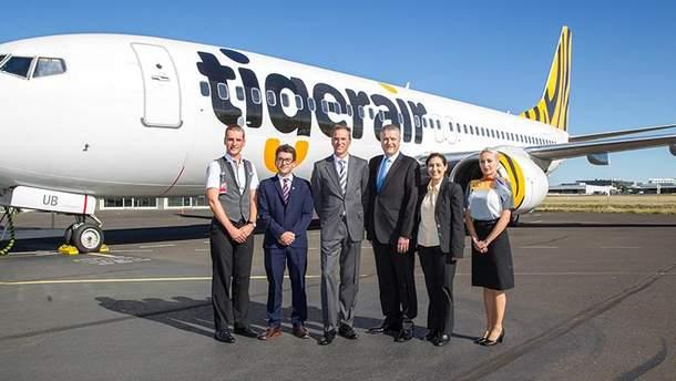 Австраліський лоукостер Tigerair названо найдешевшим у світі