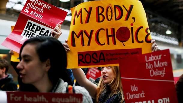 Ирландцы проголосовали за легализацию абортов