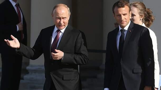 """Путин сумел """"дорасти"""" до Макрона"""