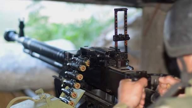 Пророссийские боевики снова применили тяжелое вооружение