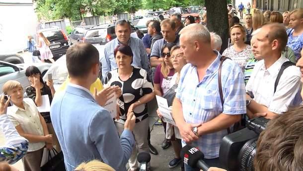 Протест лікарів перинатального центру