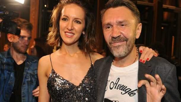 Сергей Шнуров и Елена Мозговая (Матильда)