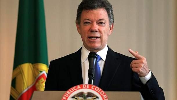 Президент Колумбії Хуан Мануель Сантос оголосив про входження його країни в НАТО у якості глобального партнера