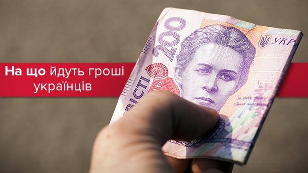 Украинцы тратят почти 50% доходов на еду