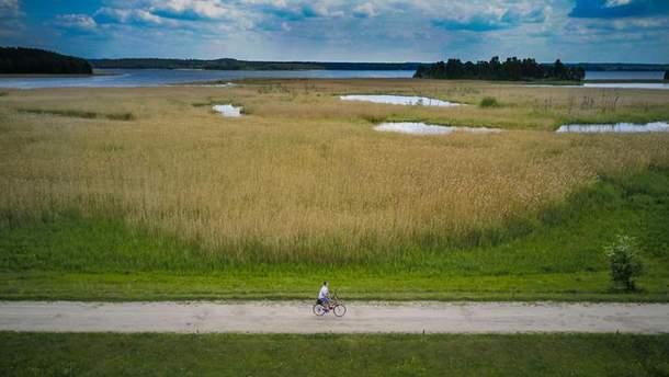 Краса Польщі з висоти пташиного польоту: яскраві фото