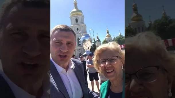 Мэры Киева и Мадрида совместно записали обращение к главе Ливерпуля по случаю финала Лиги чемпионов