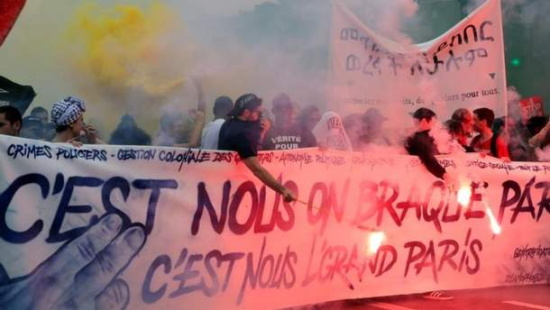 Французы протестуют против реформ Макрона