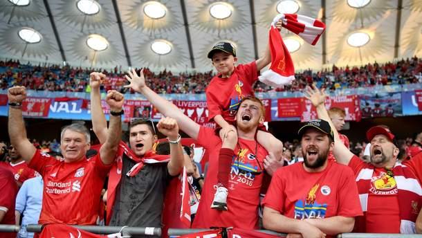 На финал Лиги Чемпионов в Киев уже прибыло более 20 тысяч фанов