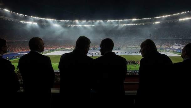 Финал Лиги чемпионов УЕФА в Киеве