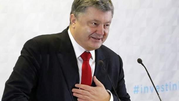Порошенко поздравил украинцев с Днем Киева