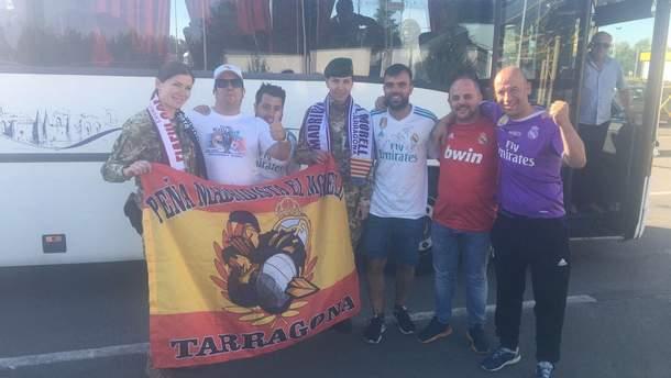 Болельщики финала Лиги Чемпионов выезжают из Украины