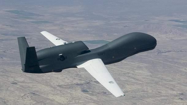 Это уже вторая разведка ВВС США в небе над оккупированным Донбассом