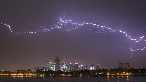 Британия страдает от дождей с грозами