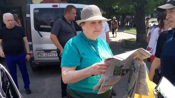У Львові пенсіонерка із Донецька бризнула газом в обличчя школярці
