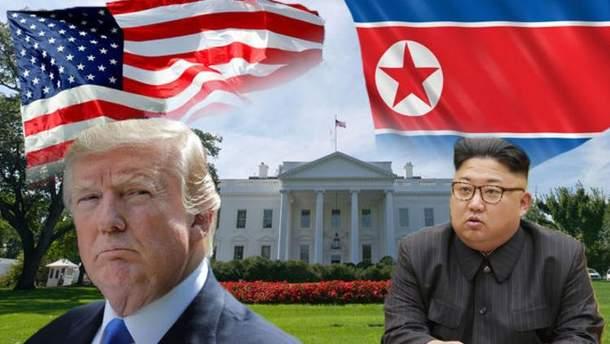 США готують фундамент до майбутньої зустрічі Трампа та Кім Чен Ина